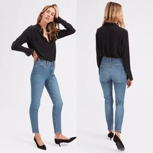 Everlane Womens The Mid Rise Skinny Jeans